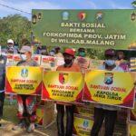 Forkopimda Jatim Berikan Bansos Bagi Korban Bencana Alam dan Menyiapkan Rumah Sederhana