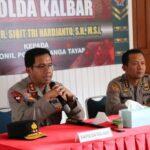 Kapolda Kalbar Kunjungan Kerja ke Polsek Nanga Tayap Polres Ketapang