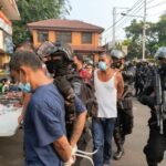 Kapolres Metro Jakarta Barat Lakukan Penggerebakan Di Kampung Ambon