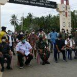 Kapolda Gorontalo bersama Forkopimda Cek Pos Penyekatan di Perbatasan Popayato